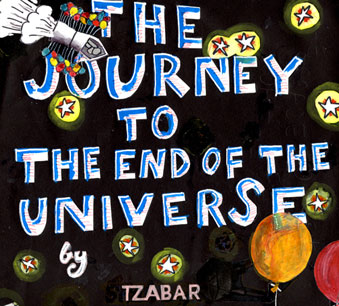 The journey of the balloons to the end of the universe