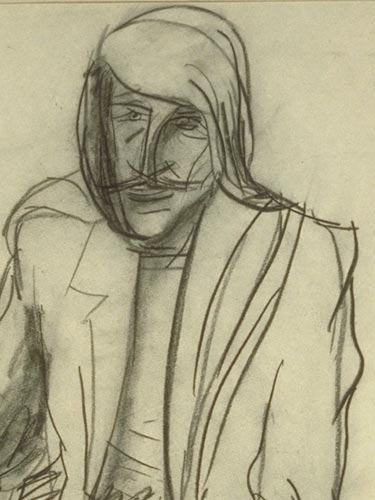 Shimon Tzabar Drawing